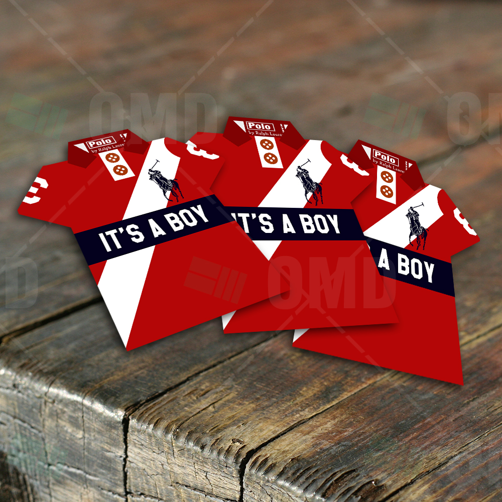 Boys Polo Shirt Invites Sports Invites