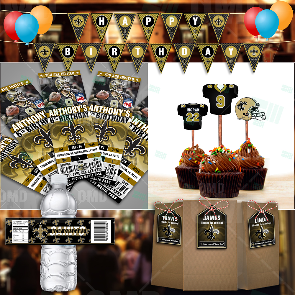 Package New Orleans Saints Ultimate Party